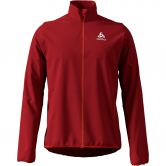 Odlo - Aeolus Element Jacket Men red dahlia