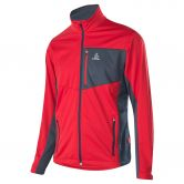 Löffler - Windstopper Softshell Light Cross-Country Skiing Jacket CF Men red