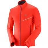 Salomon - RS Softshell Jacke Herren fiery red biking red