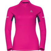Odlo - Omnius 1/2 Zip Midlayer Damen pink