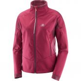 Salomon - Equipe TR Fleecejacke Damen beet red
