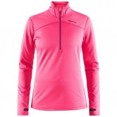 Craft - Pin Half Zip Women pink