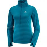Salomon - Lightning HZ Midlayer Women deep lagoon reflecting pond