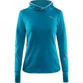 Craft - Mind Longsleeve Hoody Damen gale melange platinum