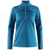 Craft - Pin Half Zip Women turquoise