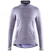 Craft - Grid Turtleneck Women purple