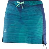 Salomon - Drifter MID Skirt Women medival blue hawaiian surf waterfall