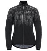 Odlo - Zeroweight Pro Warm Jacket Women black reflective graphic