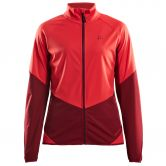 Craft - Glide Cross Skiing Jacket Women beam rhubarb