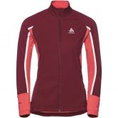 Odlo - Aeolus Pro Jacket Women rumba red hibiscus