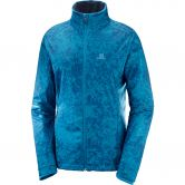 Salomon - Agile Warm Langlaufjacke Damen lyons blue