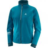 Salomon - Lightning Warm Softshell Women deep lagoon reflecting pond