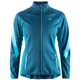 Craft - Sharp Softhsell Jacket Women fjord zen