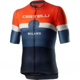 Castelli - Milano Jersey Men dark steel blue