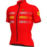 Alé - PRR Strada Jersey Men red fluo yellow