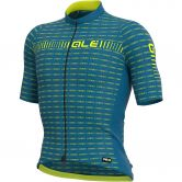 Alé - Graphics PRR Green Road Jersey Men fluo blue fluo yellow