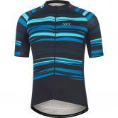 GORE® Wear - Savana Jersey Herren schwarz scuba blue