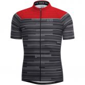 Gore Bike Wear® - Element Stripes Bike-Jersey Herren grau rot