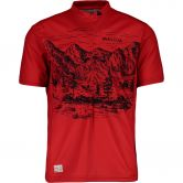 Maloja - SerlasM. AllMountain 1/2 Bike Trikot Herren red poppy