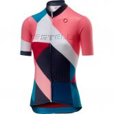 Castelli - Ventata Jersey Women multicolor tourquoise green