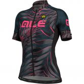 Alé - Sunset Jersey Women black fluo pink