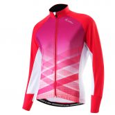 Löffler - Finessa Full Zip Langarmtrikot Damen poppy red