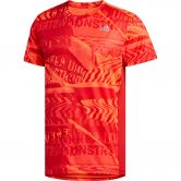 adidas - Own The Run Graphic T-Shirt Herren solar red scarlet