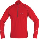 GORE® Wear - R3 Thermo Zip Long Sleeve Shirt Man red black