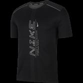 Nike - Dri-FIT Miler Laufshirt Herren black grey fog