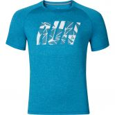 Odlo - Raptor T-Shirt Crew Neck Herren blue jewel