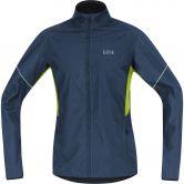 GORE® Wear - R3 Partial GORE® Windstopper® Laufjacke Herren deep water blue citrus green