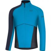 GORE® Wear - X7 Partial GTX Infinium Shirt Langarm Herren dynamic cyan orbit blue