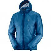 Salomon - Bonatti Race Waterproof Running Jacket Men poseidon
