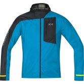 Gore Wear® - R7 Windstopper Light Kapuzenjacke Herren dynamic cyan black