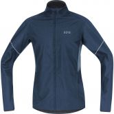 GORE® Wear - R3 Partial Gore® Windstopper® Running Jacket Men deep water blue cloudy blue
