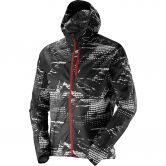 Salomon - Fast Wing Graphic Hoodie Herren black