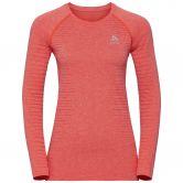 Odlo - Seamless Element Longsleeved Shirt Women hot coral melange
