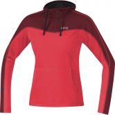 GORE® Wear - R3 Running Hoodie Women hibiscus pink chestnut red
