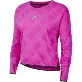 Nike - Air Running Shirt Longsleeve Women fire pink reflective silver