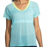 Brooks - Ghost Short Sleeve T-Shirt Damen mirage aloe