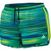 adidas - GT Energy M10 Graphic Shorts Women bold blue flash lime