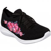 Skechers - Ultra Flex Fresh Pick Sneaker Damen schwarz