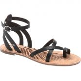 Pepe Jeans - March Basic Sandalen Damen schwarz