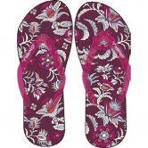 O'Neill - Printed Strap Flip Flop Damen pink aop blue