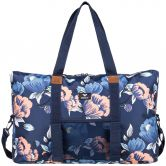 Roxy - Color Your Mind Sports Bag Women dress blues full flower