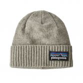 Patagonia - Brodeo Beanie p-6 logo drifter grey