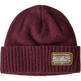 Patagonia - Brodeo Mütze Unisex fitz roy rambler chicory red