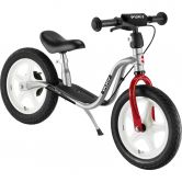 Puky - Learner Bike LR 1L with brake silver chili red