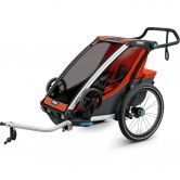 Thule - Chariot Cross 1 Seat 2020 red orange
