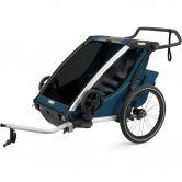Thule - Chariot Cross 2 Sitzer 2021 majolica blue